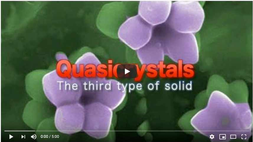Quasicrystals: The third type of solid